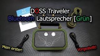 DOSS Traveler Bluetooth Lautsprecher [Grün] Vorgestellt!