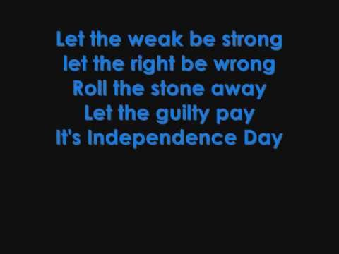 Martina Mcbride Independence Day Chords