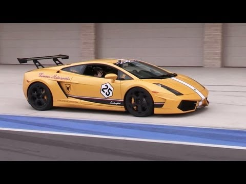 Amazing Lamborghini Engine Sounds
