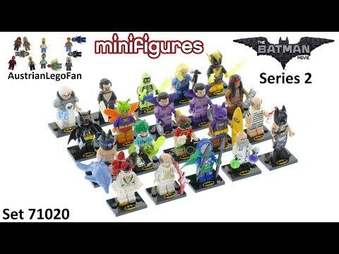 Vidéo LEGO Minifigures 71020 : The LEGO Batman Movie Série 2