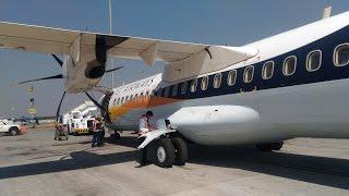 Flight Landing in Rajahmundry airport