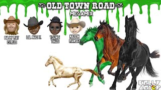 Lil Nas X – Old Town Road MEGAMIX (ft. Billy Ray Cyrus Young Thug & Mason Ramsey)
