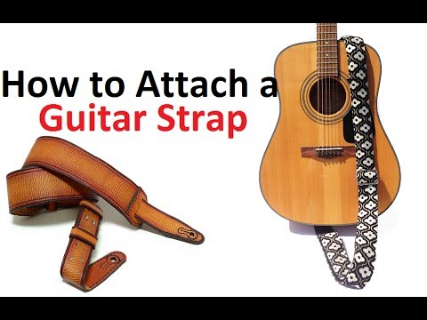Guitar Lessons : How to Attach a Guitar Strap