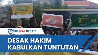 Unjuk Rasa Warnai Sidang Oknum Dosen Cabul di Jember, Mahasiswa Desak Hakim Vonis 8 Tahun Penjara