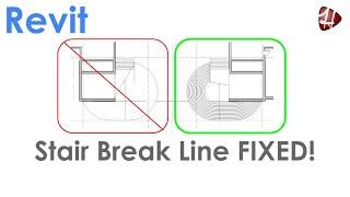 Stair Break Line  FIXED!