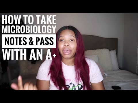 Pre Nursing Student How To take MICROBIOLOGY Notes| Pass ...