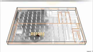 NFPA Fire Scenario Assessment for Basement Parking - CFD Simulation