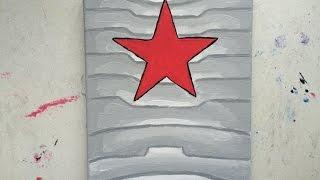 Winter Soldier Arm Speed Paint