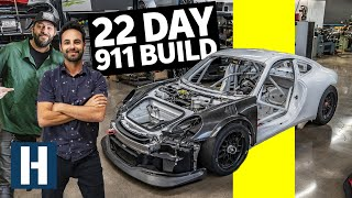 22 Days to Build a 900hp Porsche 911 For Pikes Peak. Will We Make it?