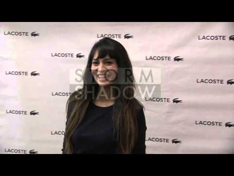 RJ Mitte, Zara Martin, Millie Mackintosh and more attends the Lacoste fashion show in New York