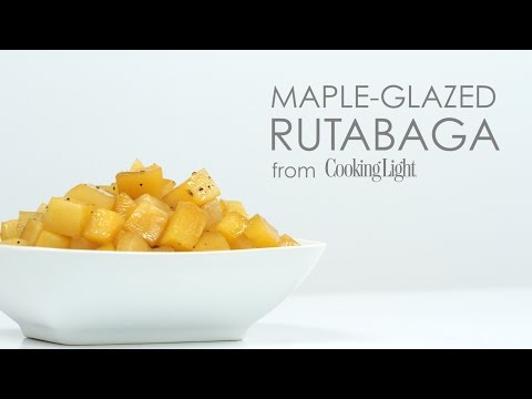 How to Make Maple Glazed Rutabaga