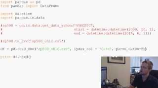 PandaswithPython2.7Part3-ReadingfromandsavingtoCSV