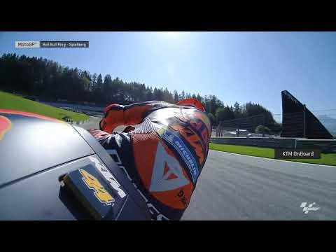 Red Bull KTM Factory Team OnBoard: myWorld Motorrad Grand Prix von Österreich