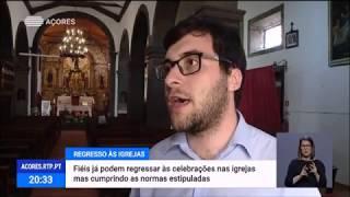 19/05: As igrejas da Região já podem celebrar missas presencialmente