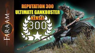 Reputation 300 - The Ultimate Gankbuster Kensei [For Honor/Breach]
