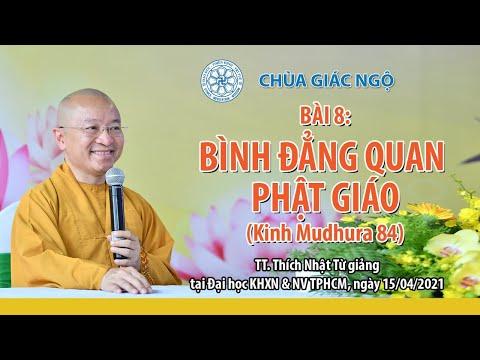 Bình đẳng quan Phật giáo