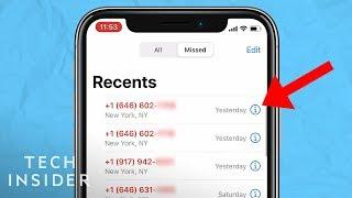 Block Spam & Robo Calls On The iPhone