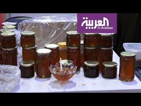 العرب اليوم - شاهد: أربيل تتباهى بعسلها الأسود ويستخدم في علاج المصابين بأمراض الربو