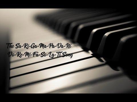 The Sa-Ri-Ga-Ma-Pa-Da-Ni Or The Do-Re-Mi-Fa-So-La-Ti  Song | Ayushi