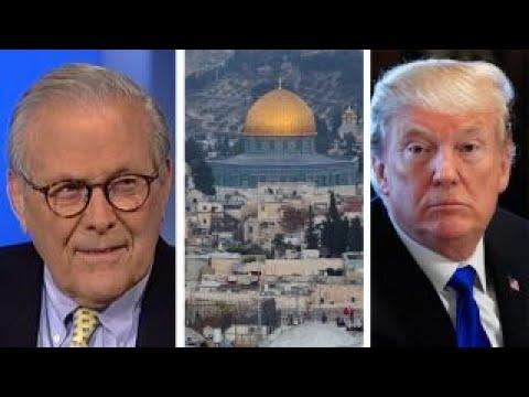 Donald Rumsfeld on the impact of Trump's Israel decision