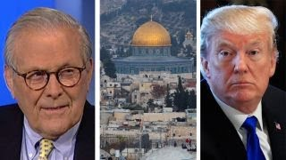 Donald Rumsfeld on the impact of Trump's Israel decision