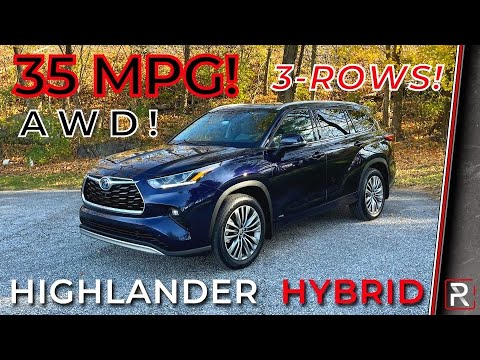 The 2021 Toyota Highlander Hybrid is the Most Fuel-Efficient AWD 3-Row SUV in America