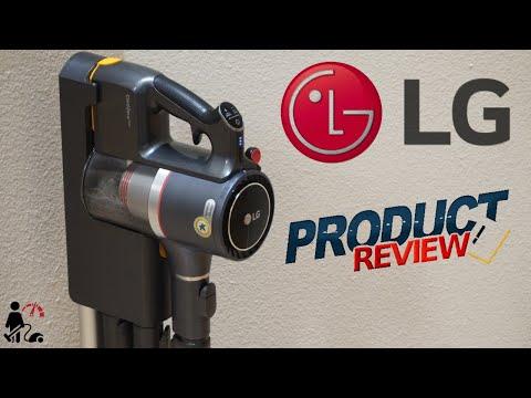 External Review Video pkRH906AzJE for LG CordZero A9 Kompressor Stick Cordless Vacuum Cleaner
