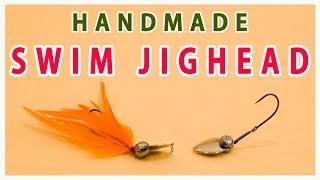 How to make SWIM ACTION JIGHEAD / ハンドメイド スイムアクション ジグヘッド。