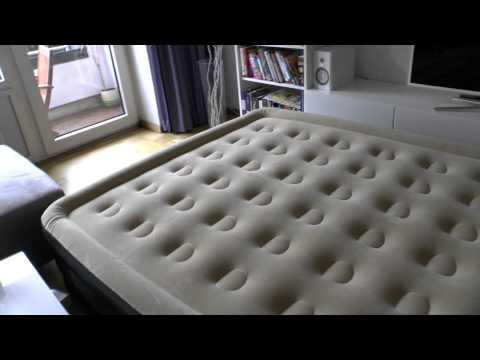 Wehncke Luftbett - Was taugt es als Gästebett? Gekauft bei Rossmann