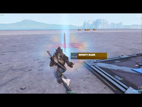 - how to get the infinity blade in fortnite creative