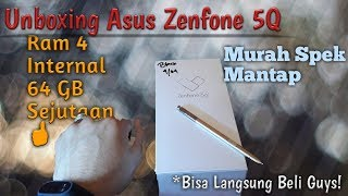 Asus ZENFONE 5Q Ram 4 internal 64 GB Black Original