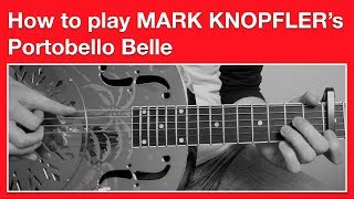 Dire Straits - Portobello Belle How to Play Chords - Open G Tuning