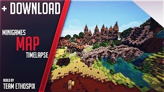 Minecraft Spawn Hub Speed Build Small Advanced Design Map - Wie downloade ich maps fur minecraft