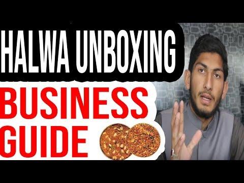 Business guide || Halwa unboxing || Karobaari Baba