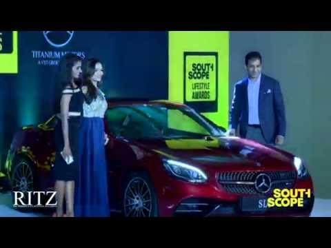 Mercedes SLC unveiling by Soundarya Rajinikanth & Arun Surendra at SouthScope Lifestyle Awards
