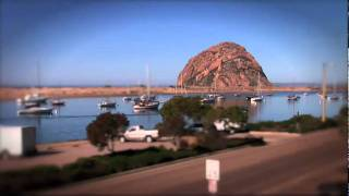 Discover Morro Bay -Tilt shift