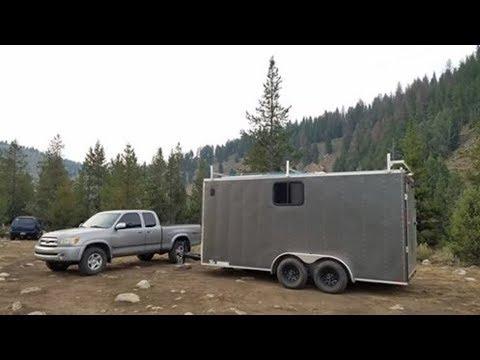 Cargo Trailer Conversion