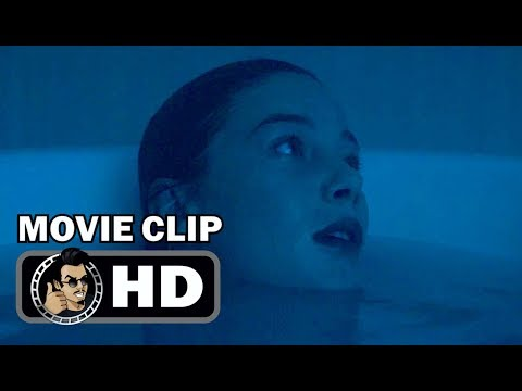 the lodgers exclusive clip the bath 2018 horror thriller mov