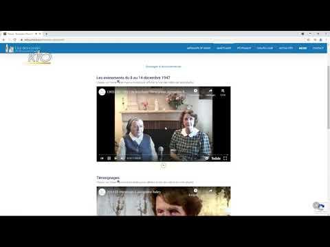Le site web du sanctuaire de l'Ile-Bouchard