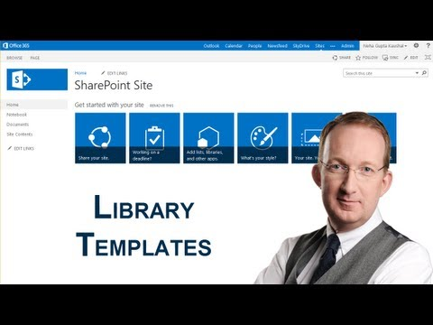 SharePoint 2013 Document Library Templates - YouTube