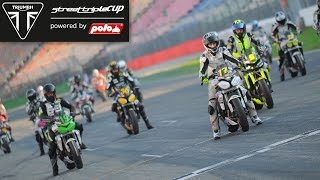preview picture of video 'Triumph Street Triple-Cup Most 2014 - Race Highlights'