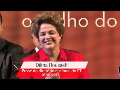 Dilma Rousseff   Posse do Diretório Nacional do PT