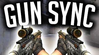CSGO Moving Gun Sync - Six Shooter