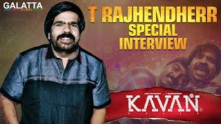 T Rajhendherr during a special interview for #Kavan | #TR