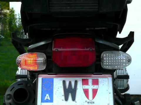 BMW R1150/850GS LED Blinker - Vergleich (indicator comparison)