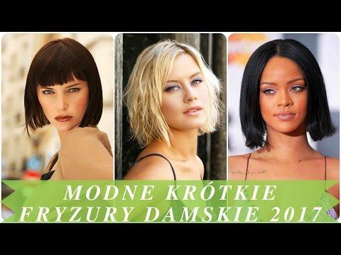 Modne Krótkie Fryzury Damskie 2017 Kanał Mody