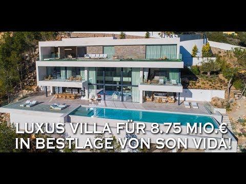 Haus Tour mit Marcel Remus: Luxus Villa für 8.75 Mio.€ in Bestlage von Son Vida!