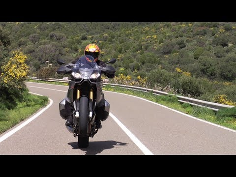 2013 Aprilia Caponord 1200 Onboard and review teaser from Sardinia with Tor Sagen