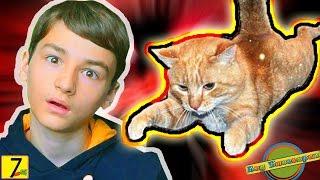 """Брайн Мапс и его кот Тигра """"АГУ БЛОГГЕРАМ"""" #7 Брайнживи  Реакция ребенка на Брайна Мапса"""