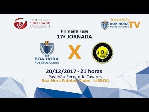 17ª Jornada Primeira Fase  Boa-Hora FC/ROFF -   ABC/UMINHO